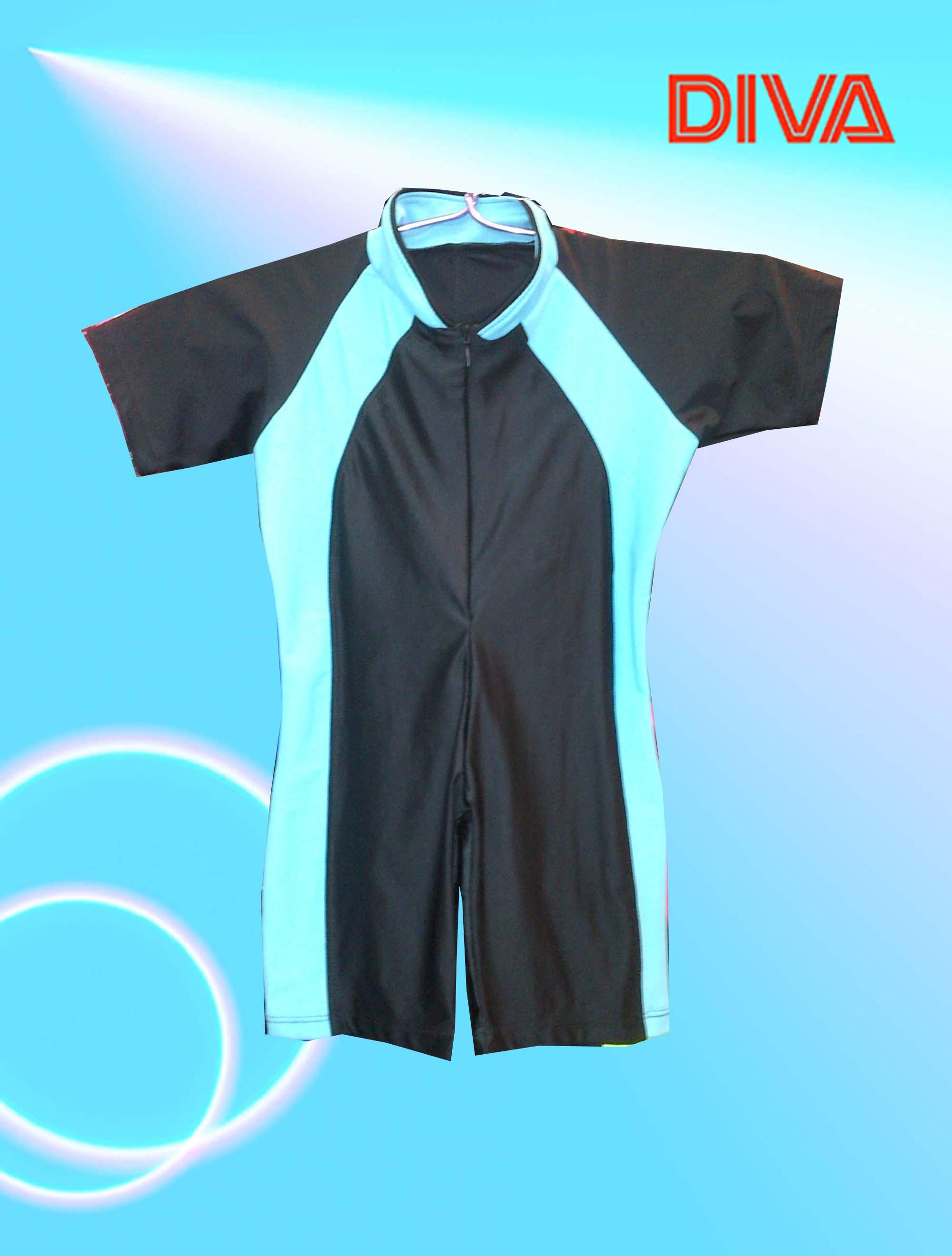 Anak Baju Renang Celana Swimsuit Jual Muslimah Perempuan Alk 7002 7004 Al 7001